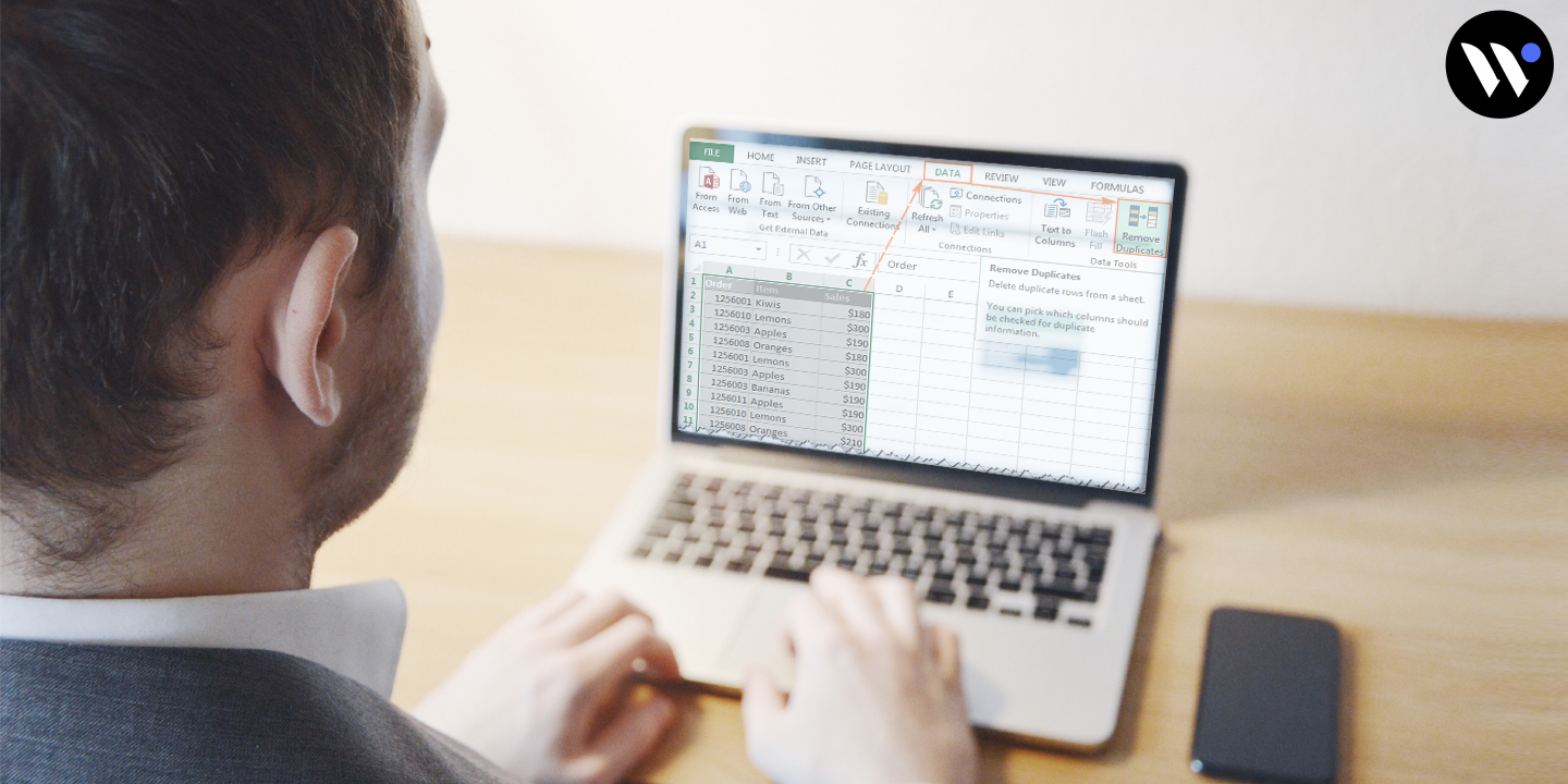 how to delete duplicate in excel