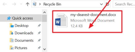 notice your document