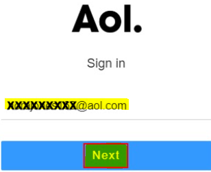 Recover Aol Password
